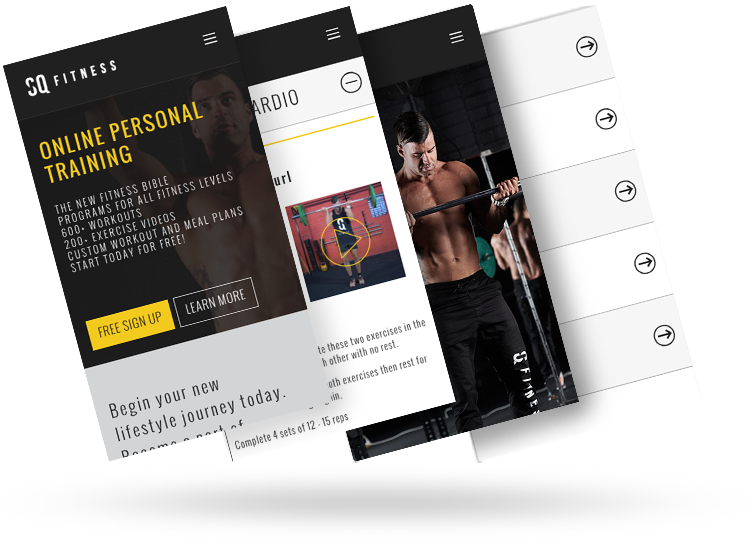 Over 700+ tailored workouts for all body parts, planned by Simon.