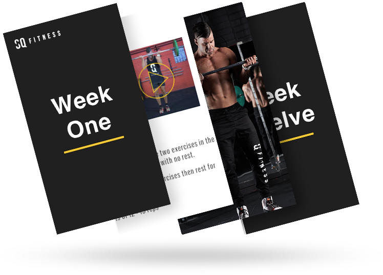 Custom 12 Week Exercise Program